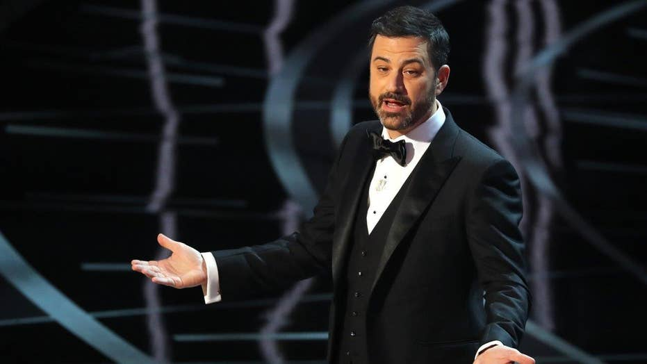 Jimmy Kimmel jabbed Trump with jokes at Oscars