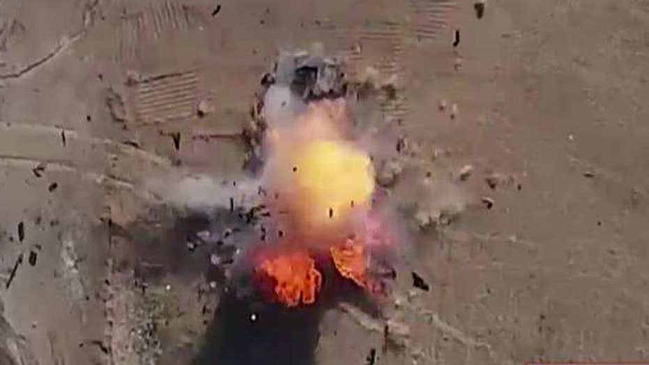 ISIS reportedly using weaponized drones in Iraq and Syria