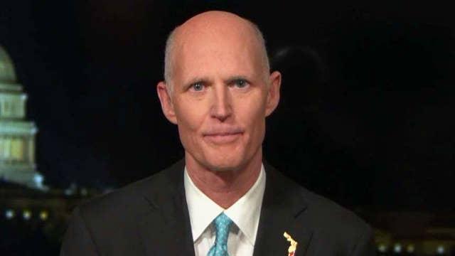 Gov. Scott on Trump pushing power back to the states