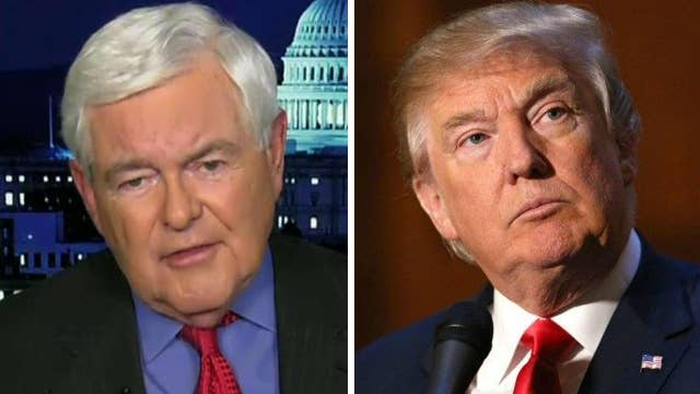 Gingrich: 'Moderately optimistic' about passing Trump's plan