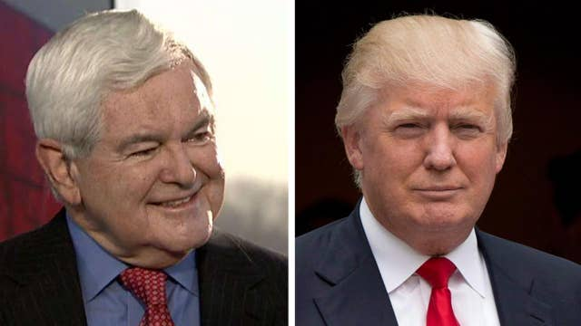 Newt Gingrich on how Trump can improve his messaging