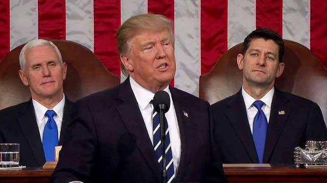 President Trump touts 'historic tax reform'