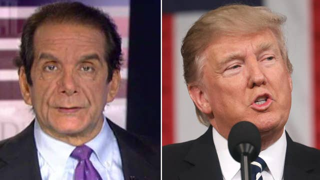 Krauthammer: This should have been Trump's inaugural address