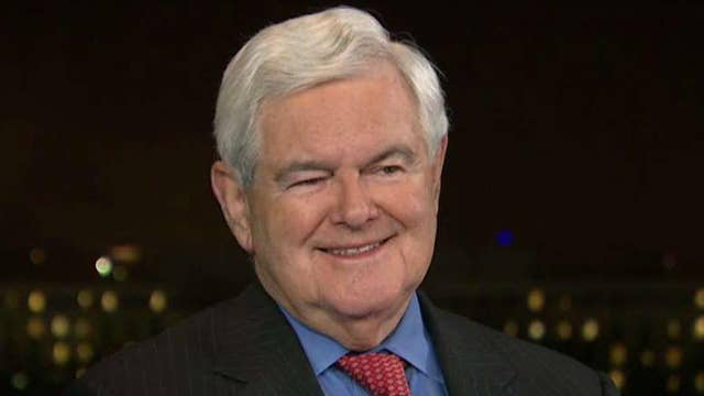 Gingrich 'blown away' by President Trump's 'best speech'