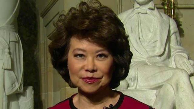 Secretary Chao on Trump's novel ideas to fund infrastructure