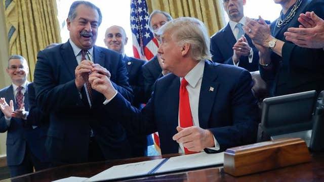 Trump set to sign EPA water regulation roll-back