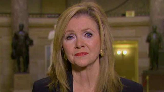 Blackburn breaks with McConnell on health care process