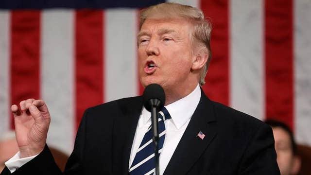 Did Trump's speech performance throw off the press?