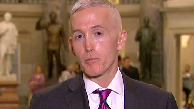 Gowdy on paid family leave, travel ban, Russia investigation
