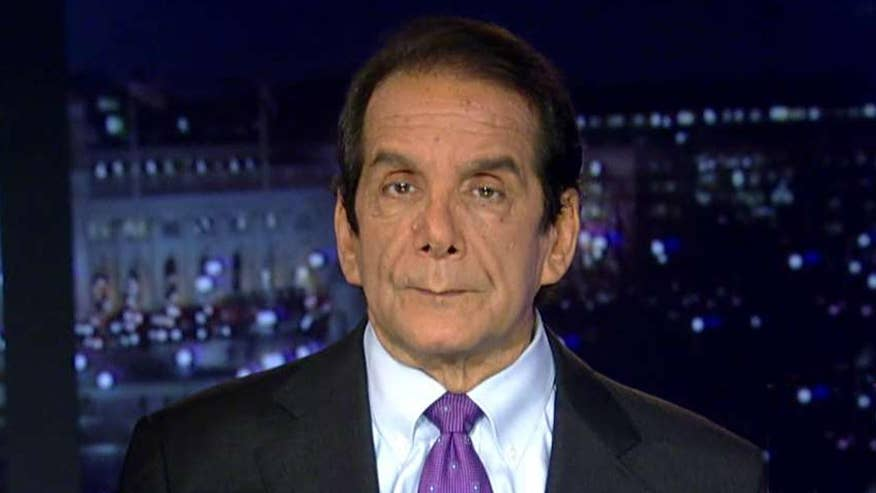 Charles Krauthammer said that if President Trump wants to lead a movement for comprehensive immigration reform, he very well might succeed in negotiating a deal with both parties in Congress.
