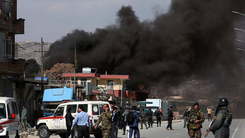 Death toll rising after Taliban bombings rock Kabul
