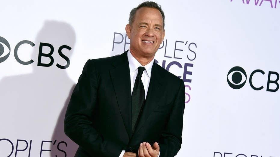 Tom Hanks sends gift to White House press