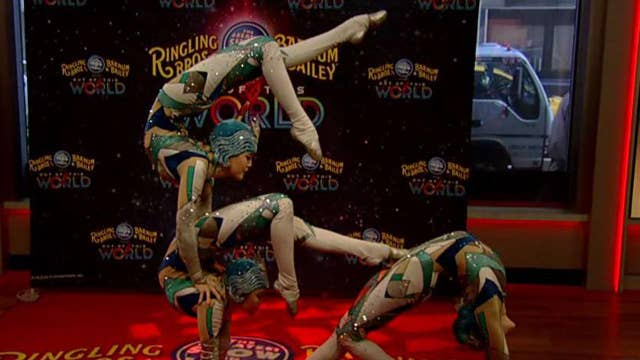 After the Show Show: Ringling Bros. Circus contortionists