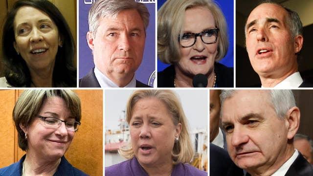 Seven Democrat senators met with Russian ambassador