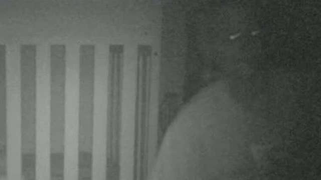 Baby monitor captures frightening image of an intruder