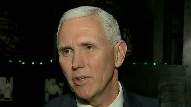 Pence addresses use of a private email account