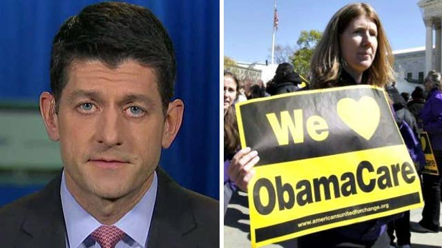 Ryan rejects comparisons to Democrats' crafting of ObamaCare