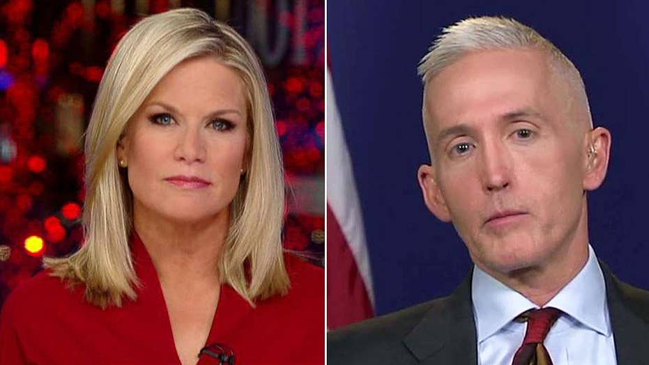 Trey Gowdy on Sessions recusal, investigations into Russia
