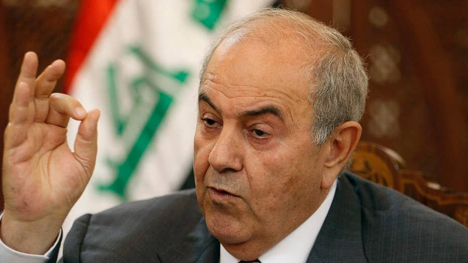 Former Iraqi VP Ayad Allawi speaks out on US relations