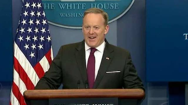 Sean Spicer on what it's like to work for President Trump