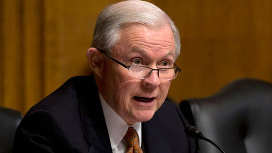Some Democrats calling for Jeff Sessions' resignation