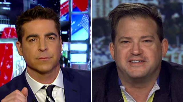 Watters takes on critic of Navy SEAL widow at Trump speech
