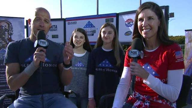 NASCAR race benefits families of fallen heroes