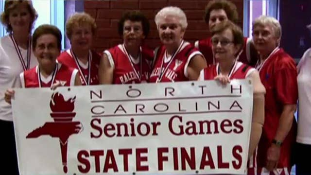 Spry seniors form 'Fabulous 70s' basketball team