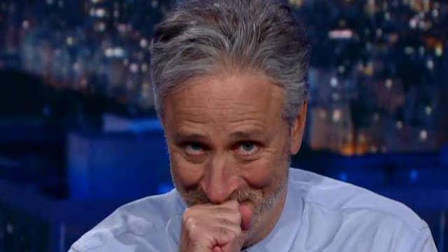 Jon Stewart's media mockery