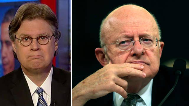 Byron York reacts to Clapper denying wiretap of Trump