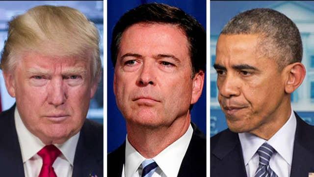 Comey, DOJ caught off guard by Trump's wiretap charge