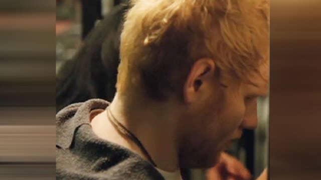 Ed Sheeran returns to the charts