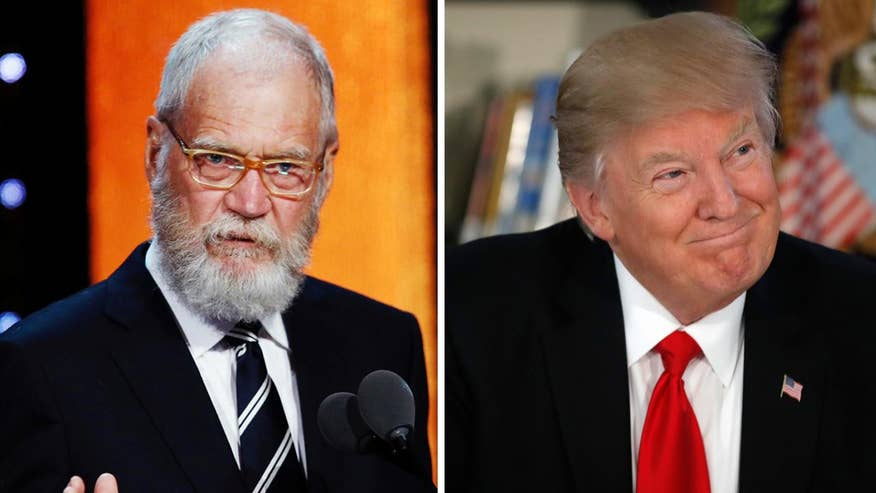Fox411: David Letterman says late night TV has 'obligation' to challenge Trump