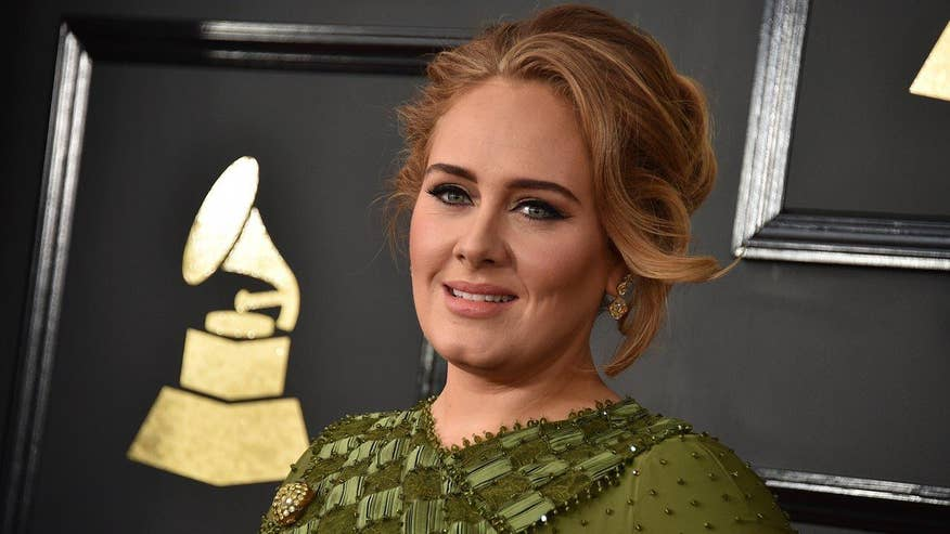 Fox411 Breaktime: Adele tells crowd she is 'married now'