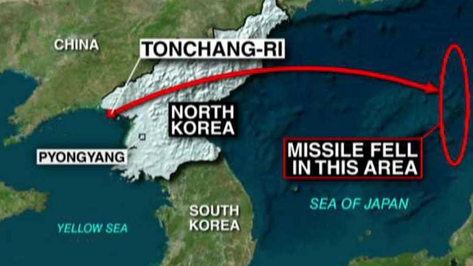 North Korea fires four banned ballistic missiles into sea