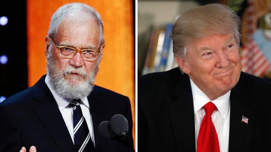 David Letterman: Late night TV too soft on Trump