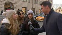 Jesse Watters asks visitors to NYC about President Trump and the new travel ban on 'The O'Reilly Factor'