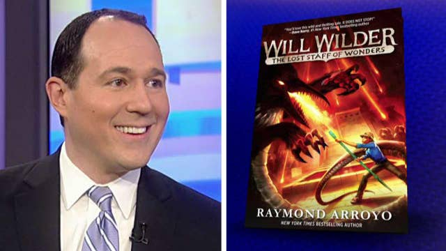Raymond Arroyo talks about his new book 'Will Wilder'
