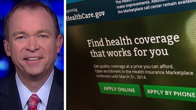 WH budget director makes case for ObamaCare replacement plan