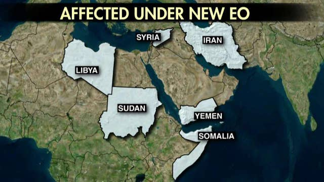 Immigration order 2.0 removes Iraq from no-travel list