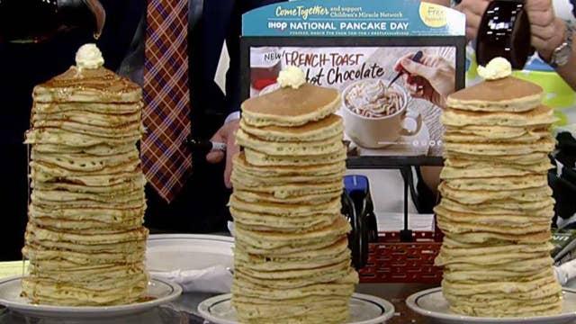 'Fox & Friends' celebrate National Pancake Day