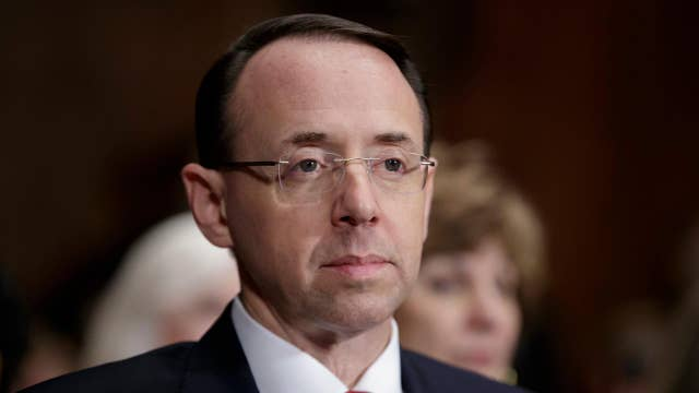 Russia probe dominates Rod Rosenstein's confirmation hearing