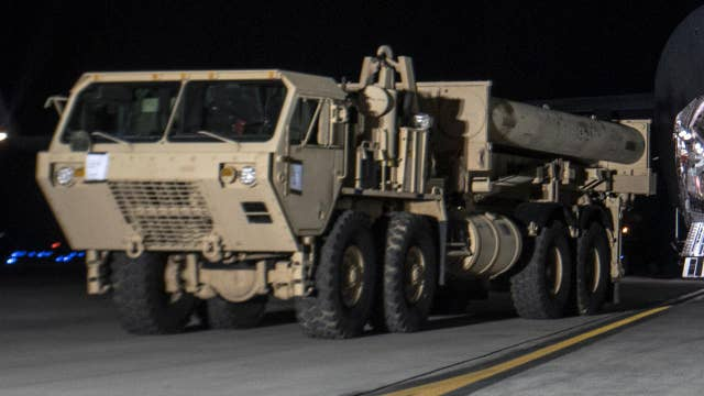 US deploys antimissile system to South Korea amid threats