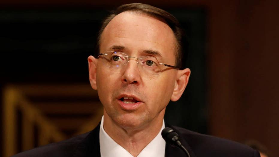 Rod Rosenstein not aware of any requirement for his recusal
