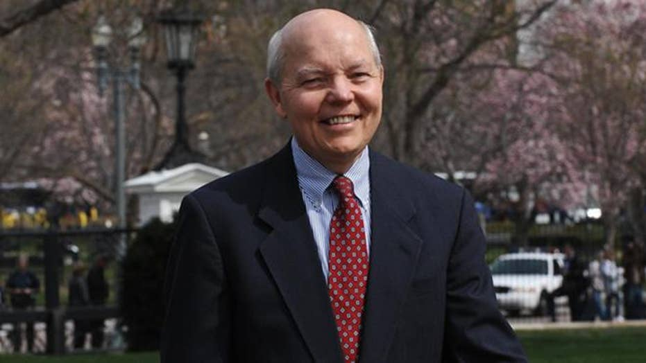 IRS chief Koskinen remains in office despite Trump criticism