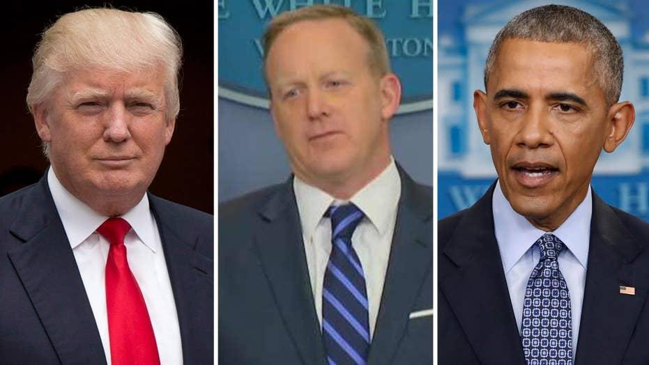 Sean Spicer addresses Trump's Gitmo tweet