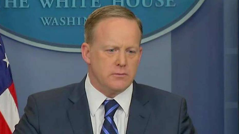 Spicer: Congress should handle probe into wiretap claims