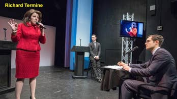 Actors swapped Trump, Clinton genders in mock debate – guess whose message won