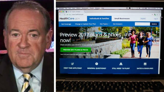 Mike Huckabee weighs in on GOP's ObamaCare replacement