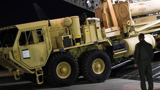 US deploys missile defense system in South Korea